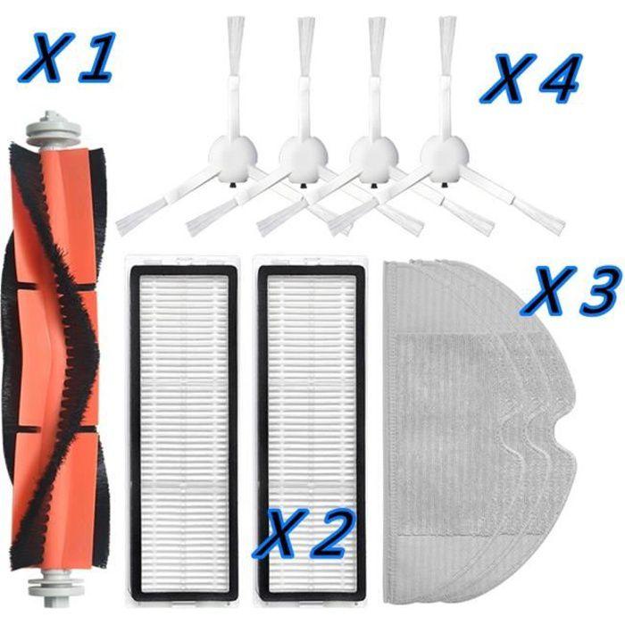 B -Accessoires d'aspirateur lavables pour Robot Xiaomi Dreame F9,kit de pièces de rechange,brosse à rouleau et latérale,filtre Hep