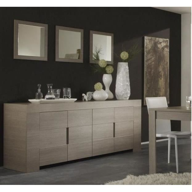 salle manger decor ch ne gris zoet e1 avec achat vente salle manger salle manger. Black Bedroom Furniture Sets. Home Design Ideas