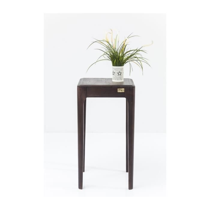 petite table d appoint 40x40 cm achat vente petite table d appoint 40x40 cm pas cher cdiscount. Black Bedroom Furniture Sets. Home Design Ideas