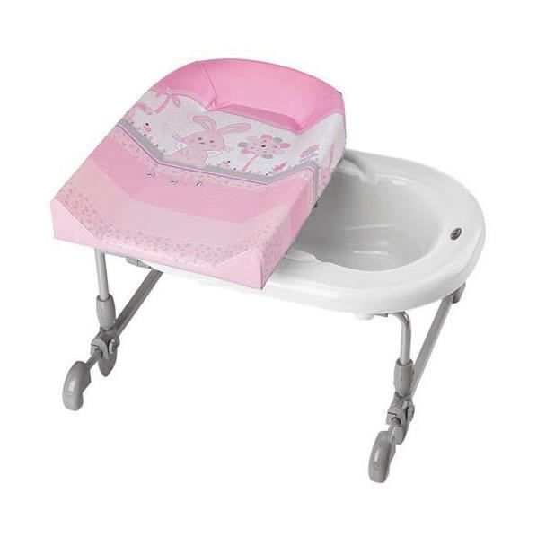 Brevi table langer bagnotime little angels adaptable - Table a langer adaptable sur baignoire ...
