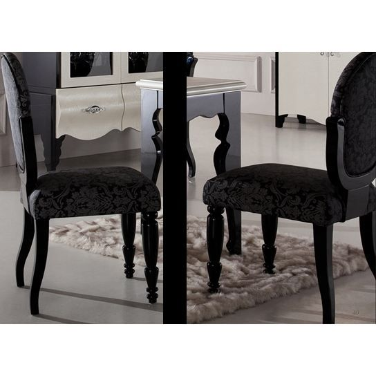 chaise baroque salle manger. Black Bedroom Furniture Sets. Home Design Ideas