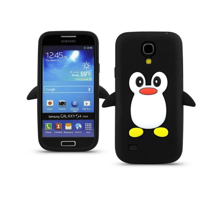 coque samsung galaxy s4 mini pingouin coque bumper. Black Bedroom Furniture Sets. Home Design Ideas