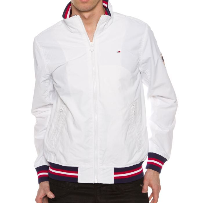 veste tommy hilfiger niles white blanc achat vente veste veste tommy hilfiger niles. Black Bedroom Furniture Sets. Home Design Ideas