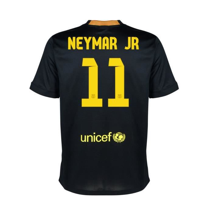 maillot fc barcelone third neymar jr achat vente maillot polo de sport cdiscount. Black Bedroom Furniture Sets. Home Design Ideas