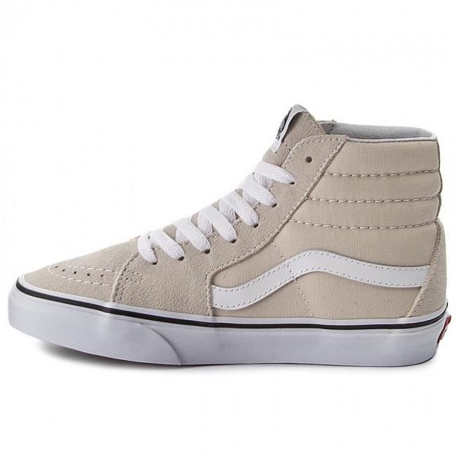 White A38geoue hi true Vans Birch Baskets Chaussures Sk8 ZqOWx1B
