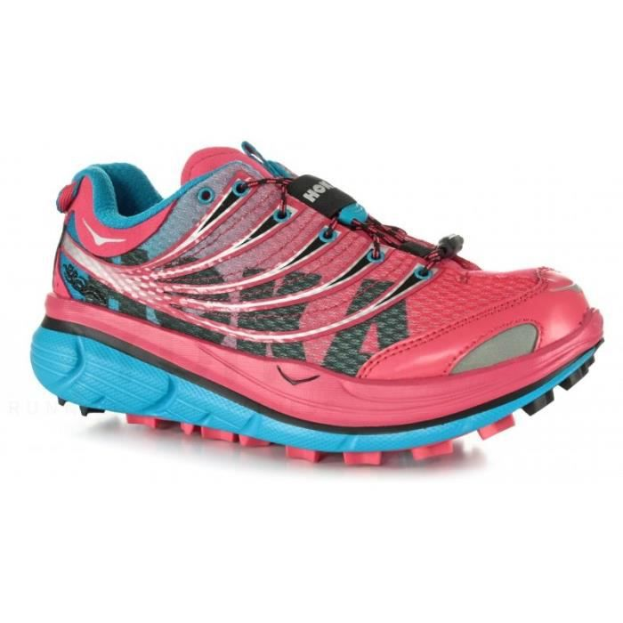 innovative design cfd70 78133 CHAUSSURES DE RUNNING Chaussures Running HOKA Femme Kailua Rose   PE 201 .