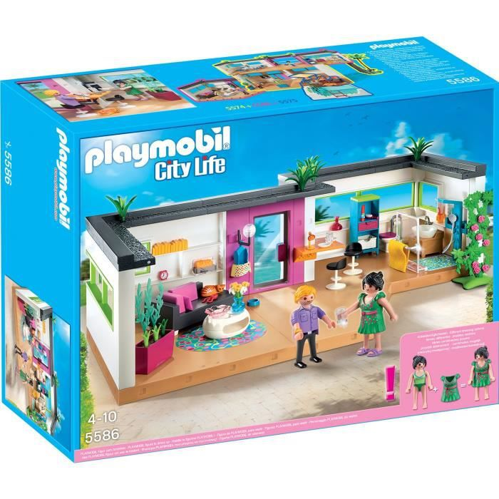 Playmobil 5586 studio des invit s achat vente univers for Salle a manger playmobil city life
