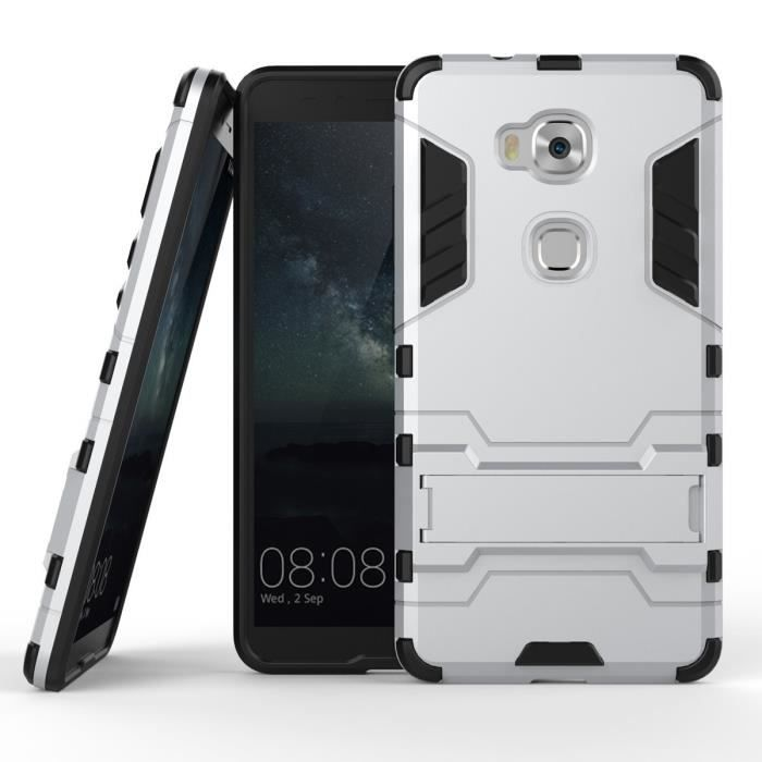 Coque protektor huawei honor 5x 5 5 pouces gris housse for Housse honor 5x
