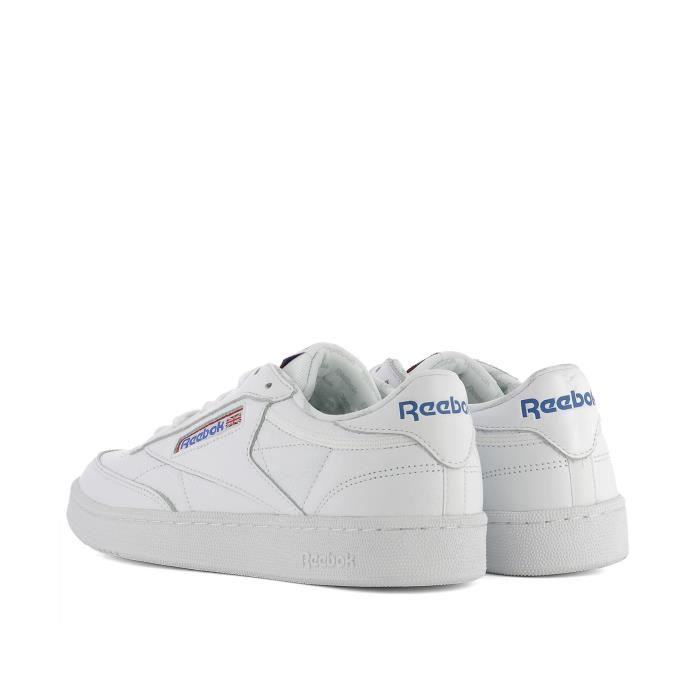 REEBOK HOMME BS5214CLUBC85SO BLANC CUIR BASKETS tLAQQl