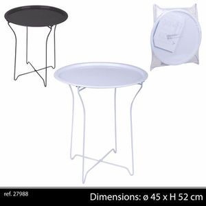 table basse jardin metal achat vente table basse jardin metal pas cher cdiscount. Black Bedroom Furniture Sets. Home Design Ideas