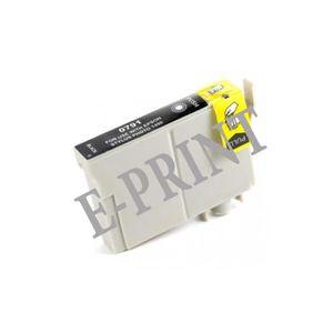 CARTOUCHE IMPRIMANTE Cartouche génerique Noir pour Epson T0791-CHOUETTE