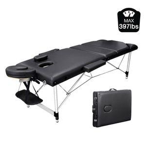 Table de massage Table de Massage Pliante Professionnelle Cosmétiqu
