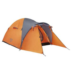 TENTE DE CAMPING BESTWAY Tente Navajo double toît + abside 70cm - 2