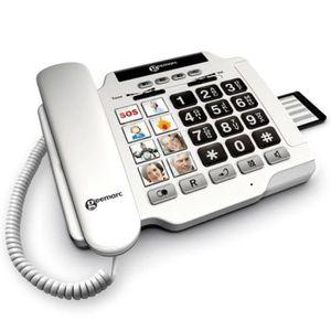 Téléphone fixe Photophone 100 GEEMARC.