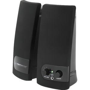 ENCEINTES ORDINATEUR Esperanza ARCO Haut-parleurs pour PC 6 Watt (Total