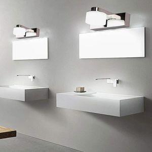 AMPOULE - LED MCTECH 3W Lampe de miroir LED Blanc froid Lampe de