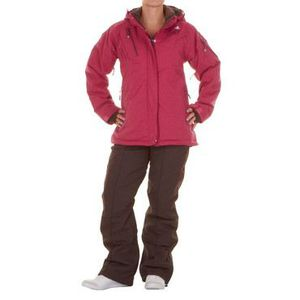 ENSEMBLE TENUE DE SPORT Peak Mountain - Ensemble de ski … Fushia/marron