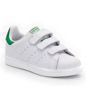 BASKET Adidas Stan smith scratch enfant
