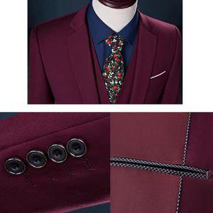 COSTUME - TAILLEUR (Veste+Pantalon+Gilet)Costume Homme Costume décont
