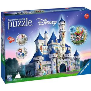 PUZZLE RAVENSBURGER - Disney classiques - Puzzle 3D Châte