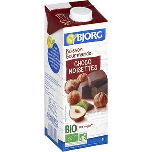 Boisson lactée Bjorg Boisson Gourmande Riz Choco Noisettes 1l