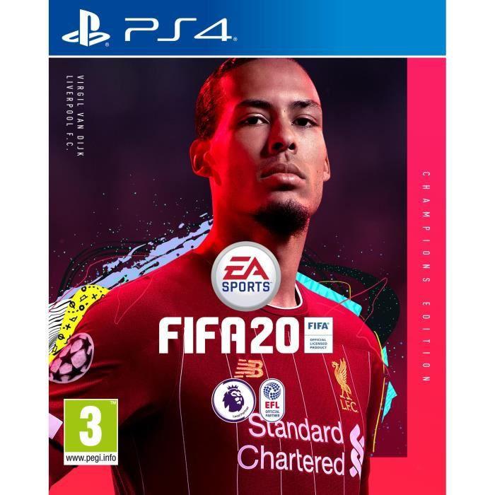 JEU PS4 FIFA 20 Edition Champions (Import Nordique) Jeu PS