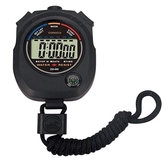 Multifonctions Chronomètre électronique en cours Chronomètre Minuteur Chronomètre Sport produit de sport 30