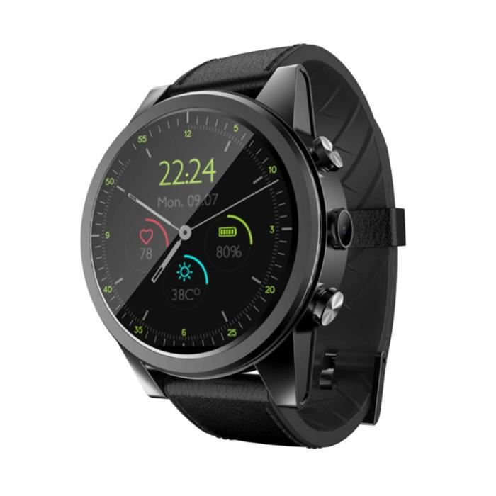 Smart Watch X360 Android 7 GPS 3 + 32GB 2MP IP67 Caméra intelligente 4G étanche