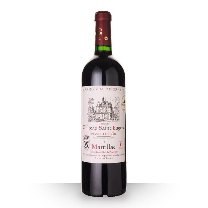 Château Saint-Eugène 2015 AOC Pessac-Léognan - 75cl - Vin Rouge
