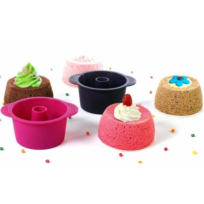 YOKO DESIGN Lot de 4 Moules à Angel Cakes