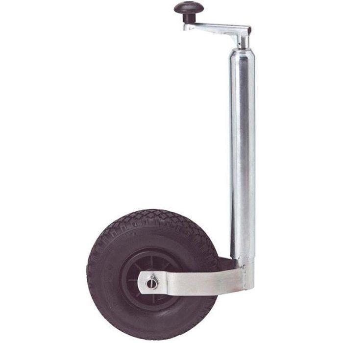 Roue Jockey Gonflable - Diam 48 mm - 160KG