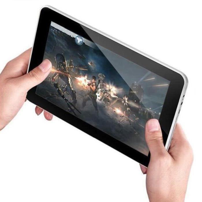 Blanc Tablette Tactile 9 Pouces Tablet A33 Quad Core Tablet PC Android 4.4 512Go RAM 8GB HDMI Double Caméra C90 A90X PC Enfant