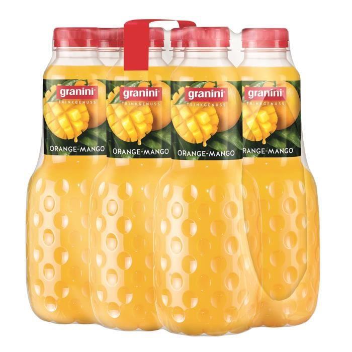 Granini Orange-Mangue jus de fruit 6 x 1l