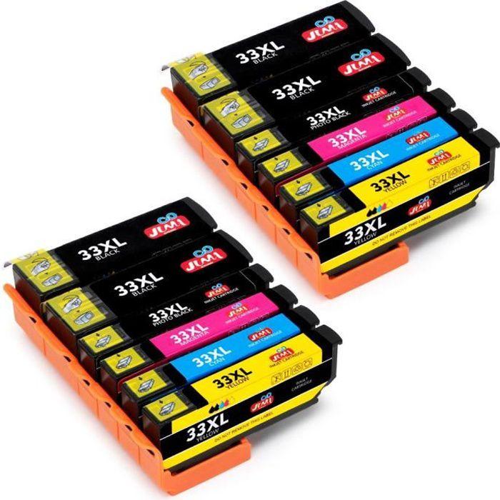 Compatible Epson 33 Cartouches d'encre pour Epson Xp 540