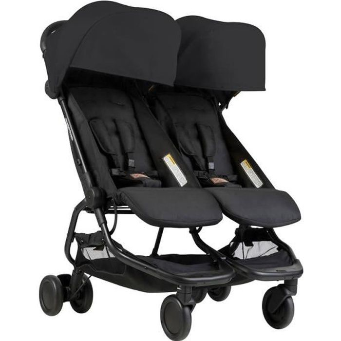 Poussette Mountain Buggy Nano Duo Black