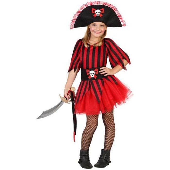 ATOSA Deguisement De Pirate Fille - Panoplie Enfant