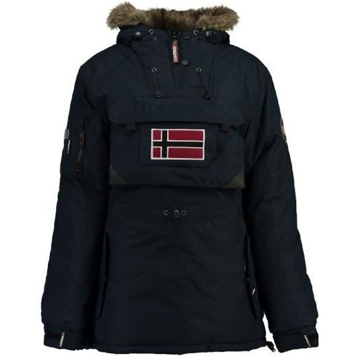 Parka Femme Geographical Norway Bulle New Marine