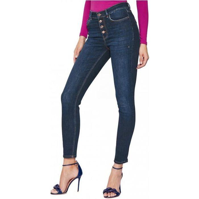 Jean brut skinny taille haute 1981 - Guess jeans - Femme