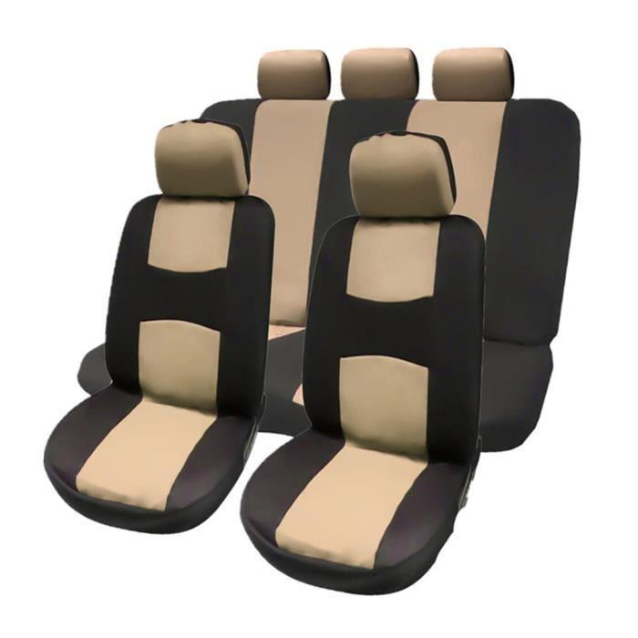 Couvre-sièges de voiture universels avant arrière Couvre les accessoires de véhicules