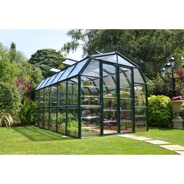 PALRAM Serre de jardin Grand Gardener 10 m² - Aluminium et polycarbonate