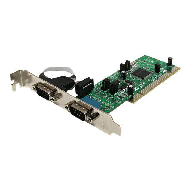 Startech Carte Pci avec 2 Ports Db 9 Rs422/485 Uart 161050 Pci X