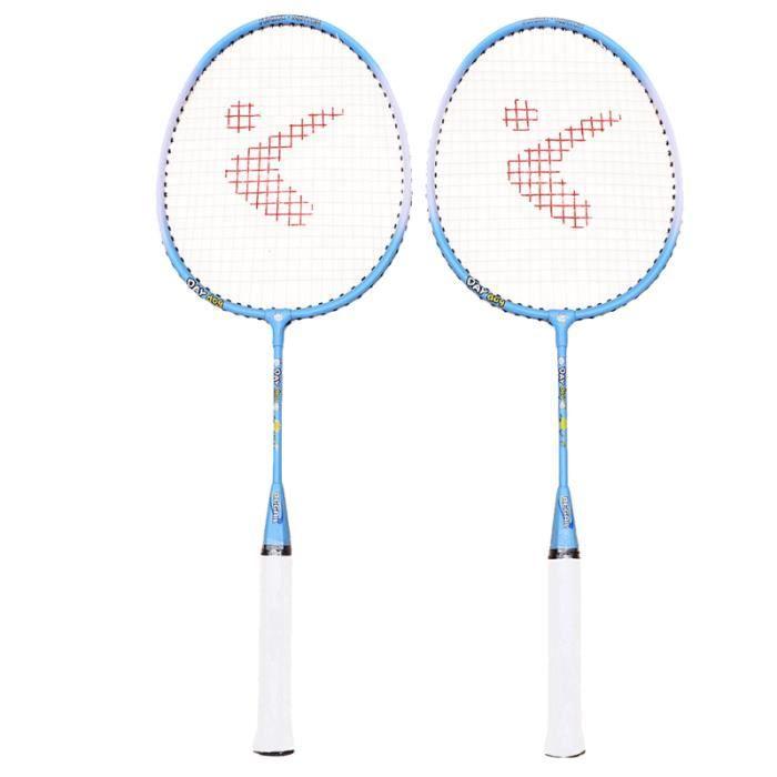 1 paire enfants raquette de badminton en alliage d'aluminium sports de plein air RAQUETTE DE BADMINTON - CADRE DE BADMINTON