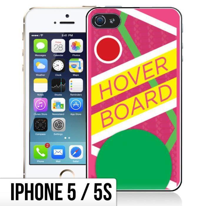 Coque iPhone 5-5S Retour Vers Le Futur - Hoverboar