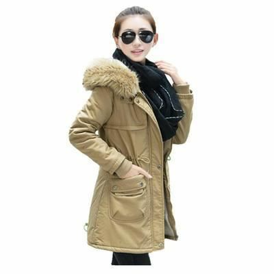 manteau femme parka fille fourrure avec capuche achat. Black Bedroom Furniture Sets. Home Design Ideas