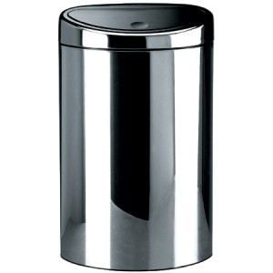 poubelle brabantia touch bin 40l achat vente poubelle corbeille poubelle brabantia cdiscount. Black Bedroom Furniture Sets. Home Design Ideas