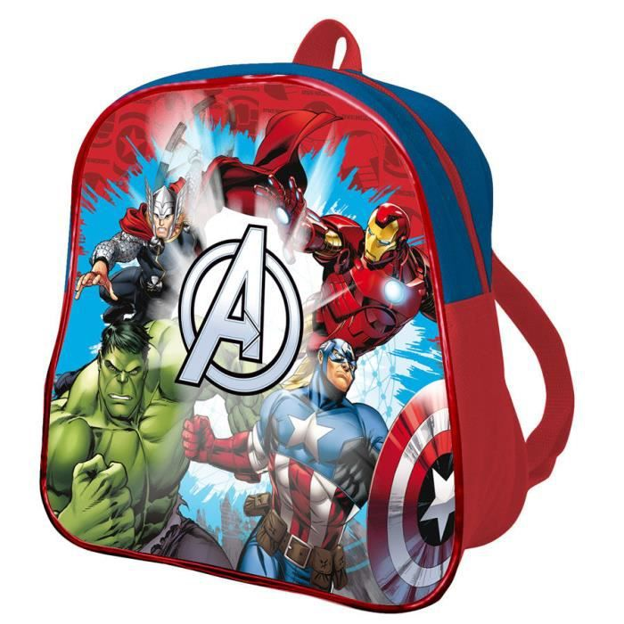 AVENGERS - Petit cartable rouge 24 cm The Avengers Assemble de Marvel