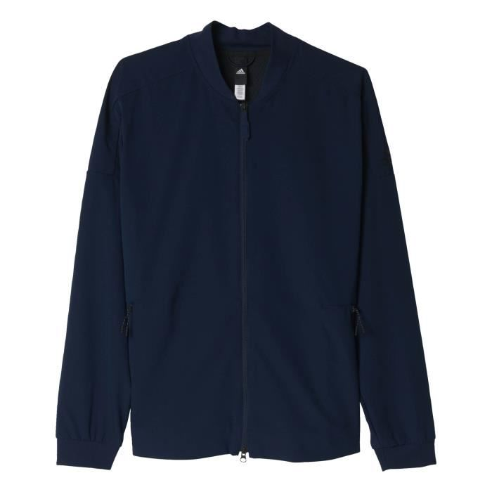 Bleu Light CL Performance FZ Homme Veste Sport adidas TR