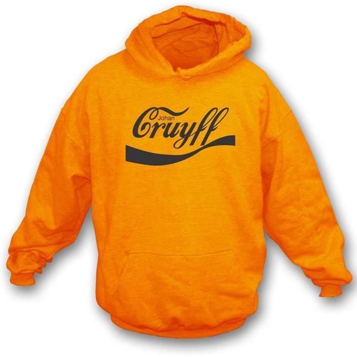 Cruyff Homme Bassa Sweat à capuche noir