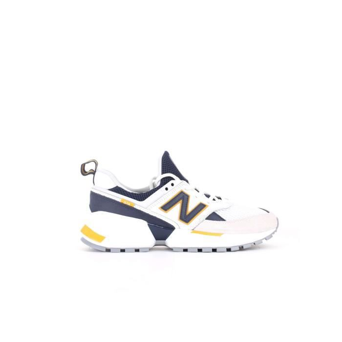 basket homme blanche cuir new balance