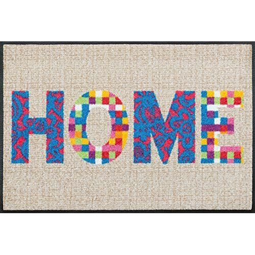 Wash dry 068587 colourful home tapis nylon caoutchouc for Tapis cuisine wash and dry